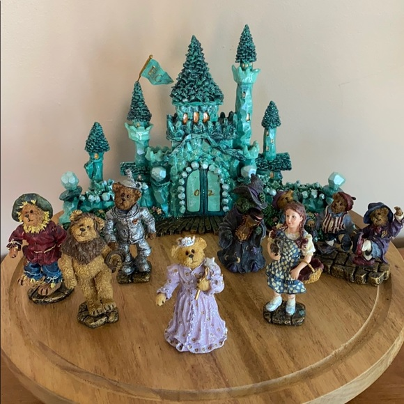 2003 Boyd's bears Wizard of Oz resin collection